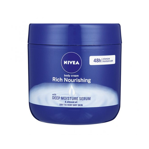 Nivea Body Cream Deep Moisture Serum 400ml - Rich Nourishing in UK