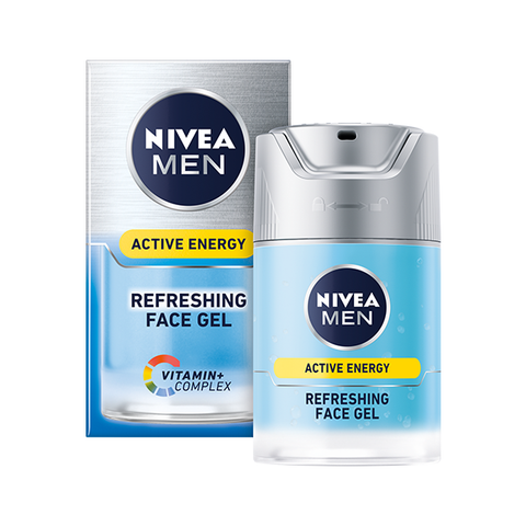 Nivea Men Active Energy Refreshing Face Gel 50ml in UK