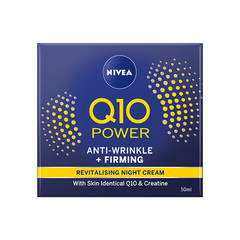 Nivea Q10 Power Anti-Wrinkle + Firming Night Cream 50ml in UK