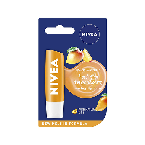 Nivea Mango Shine Lip Balm 4.8g in UK