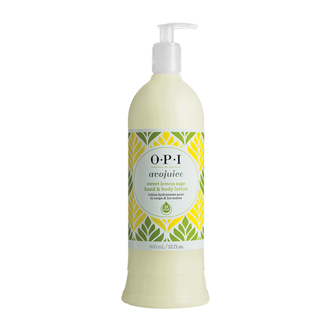 OPI Avojuice Sweet Lemon Sage Hand & Body Lotion 960ml in UK