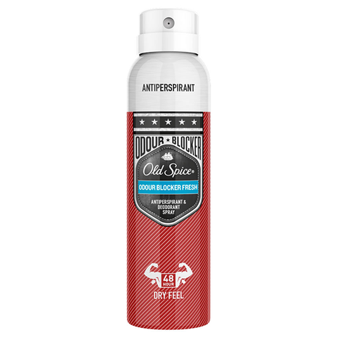 Old Spice Odour Blocker Anti-Perspirant and Deodorant Spray 150ml in UK