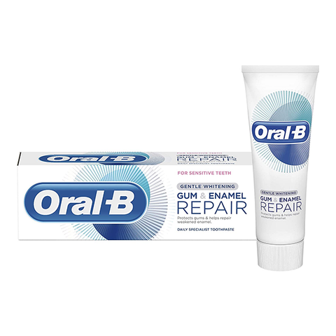 Oral B Gum & Enamel Repair Gentle Whitening Toothpaste 75ml in UK