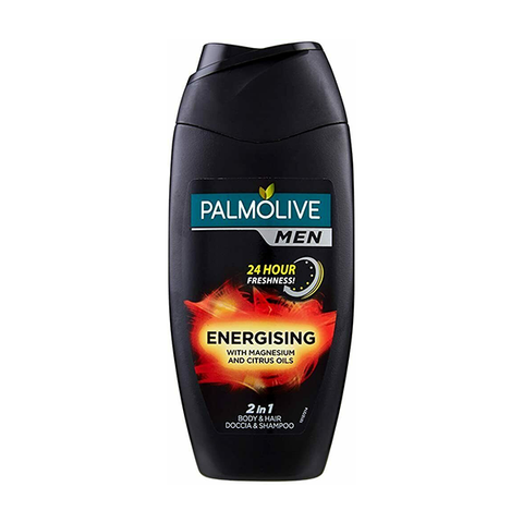 Palmolive Men Energising 2In1 Shower & Shampoo 250ml in UK