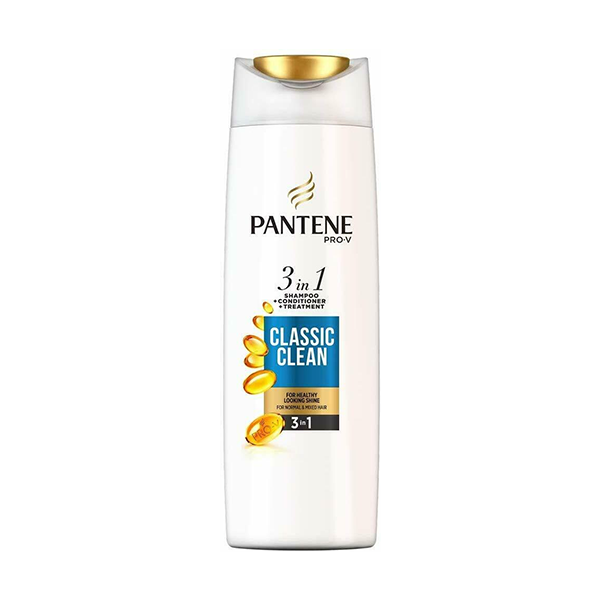 Pantene Pro-V Classic Clean 3In1 Shampoo + Conditioner + Treatment 400ml