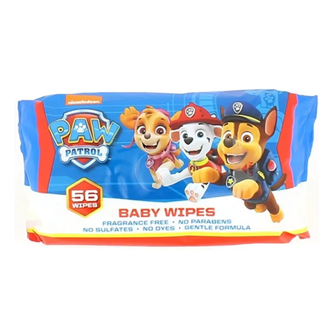 Paw Patrol Baby Wipes 56's in UK
