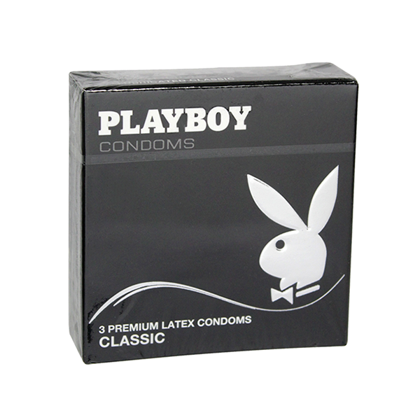 Playboy Condoms Classic 3's in UK