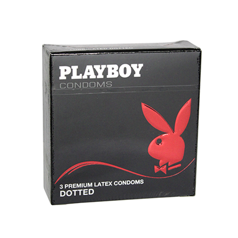 Playboy Condoms Dotted 3's in UK