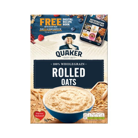 Quaker Oats 1kg in UK