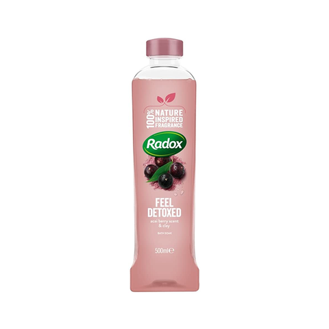 Radox Feel Detoxed Bath Soak 500ml in UK
