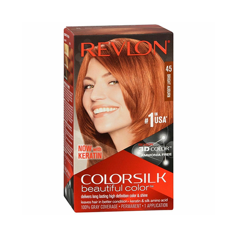 Revlon Colorsilk Beautiful Color Bright Auburn 45 in UK
