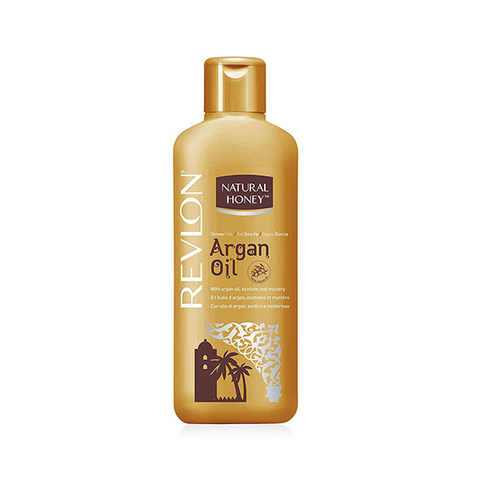 Revlon Natural Honey Shower Gel Argan Oil 650ml in UK