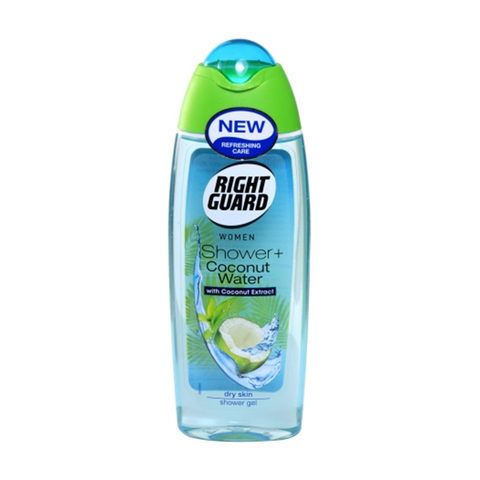 Right Guard Women Coconut Water Shower Gel 250ml in UK
