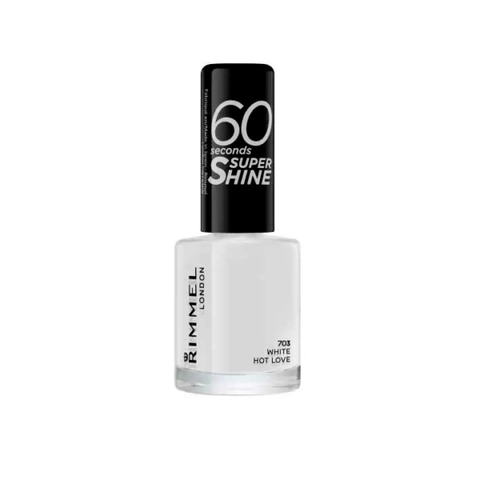 Rimmel 60 Second White Hot Love Nail Polish in UK