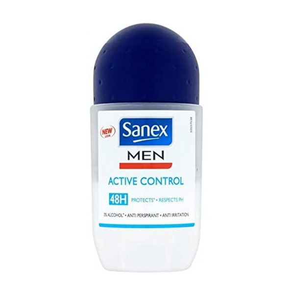Sanex Men Active Control Anti-Perspirant Roll-On Deodorant 50ml in UK