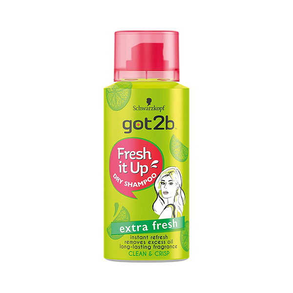 Schwarzkopf Got2b Fresh It Up Dry Shampoo Clean & Crisp 100ml in UK