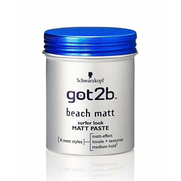 Schwarzkopf Got2b Beach Matt Surfer Look Matt Paste 100ml in UK