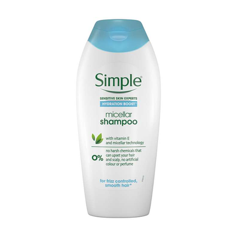 Simple Hydration Boost Micellar Shampoo 400ml in UK