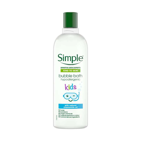 Simple Kids Hypoallergenic Bubble Bath 400ml in UK