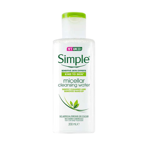 Simple Kind To Skin Micellar Cleansing Water 200ml in UK