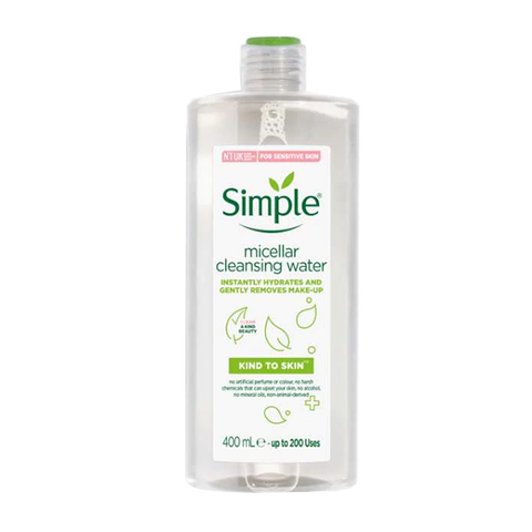 Simple Kind To Skin Micellar Cleansing Water 400ml in UK