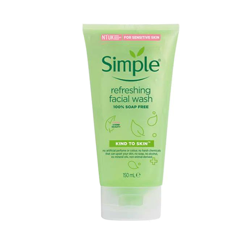 Simple Kind To Skin Refreshing Facial Wash 150ml in UK