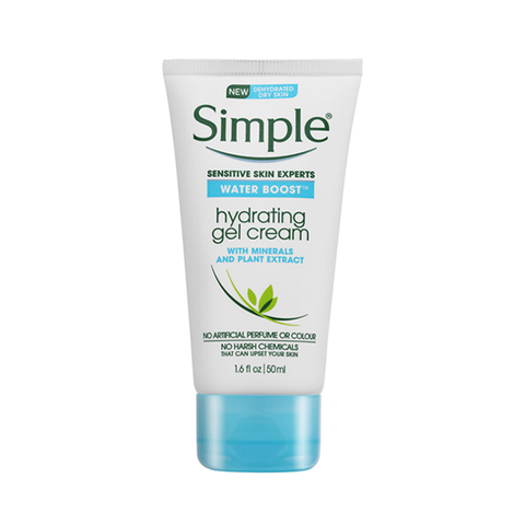 Simple Water Boost Hydrating Gel Cream 50ml in UK