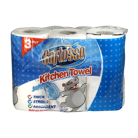 Softesse Kitchen Rolls 3PK in UK