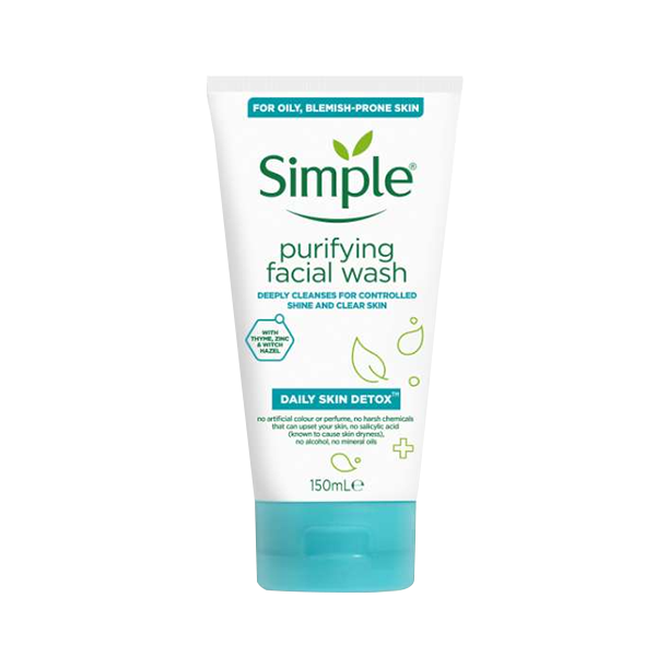 Simple Daily Skin Detox Purifying Face Wash 150ml in UK