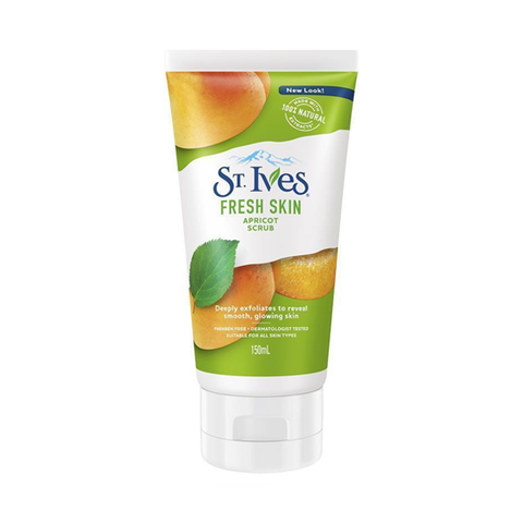St. Ives Fresh Skin Apricot Facial Scrub 150ml in UK
