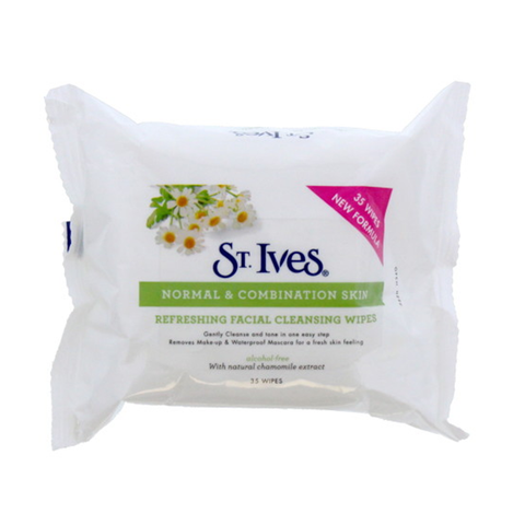 St. Ives Refreshing Facial Cleansing Wipes 35's in UK