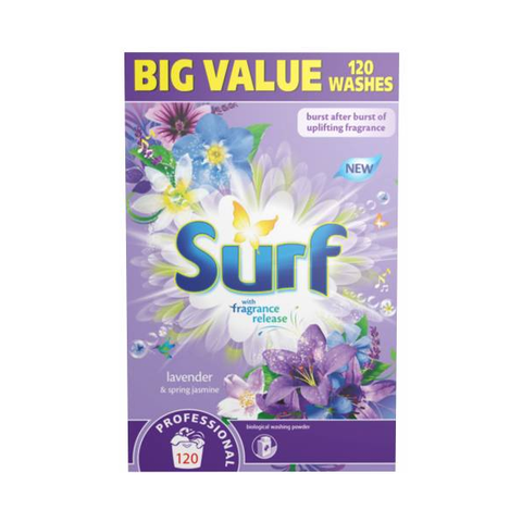 Surf Spring Jasmine Powder 120 Wash 8.4kg in UK