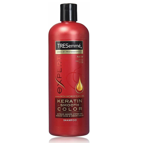 TRESemmé Expert Shampoo Keratin Smooth Colour with Moroccan Oil 500ml in UK