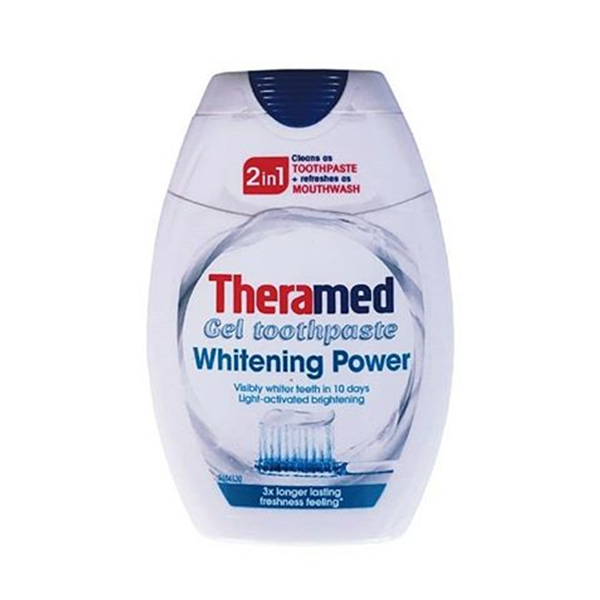 Theramed Whitening Power 2In1 Toothpaste 75ml in UK