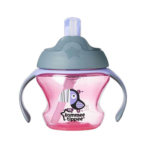 Tommee Tippee First Straw Cup - Pink in UK