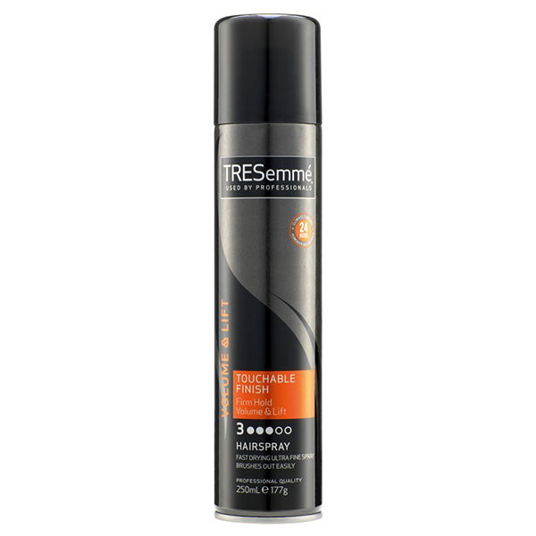Tresemmé Touchable Finish Firm Hold Volume And Lift Hairspray 250ml in UK