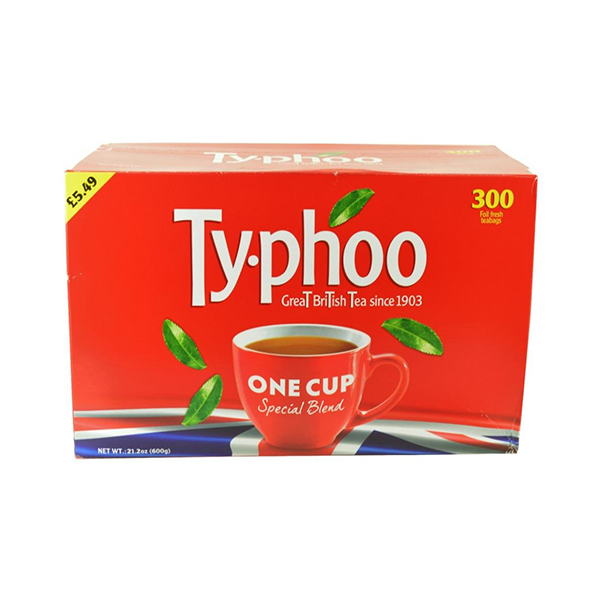 Typhoo One Cup Special Blend 300 Teabags 600g in UK