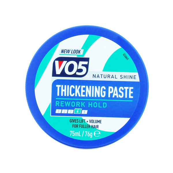 VO5 Natural Shine Thickening Paste Rework Hold 75ml in UK