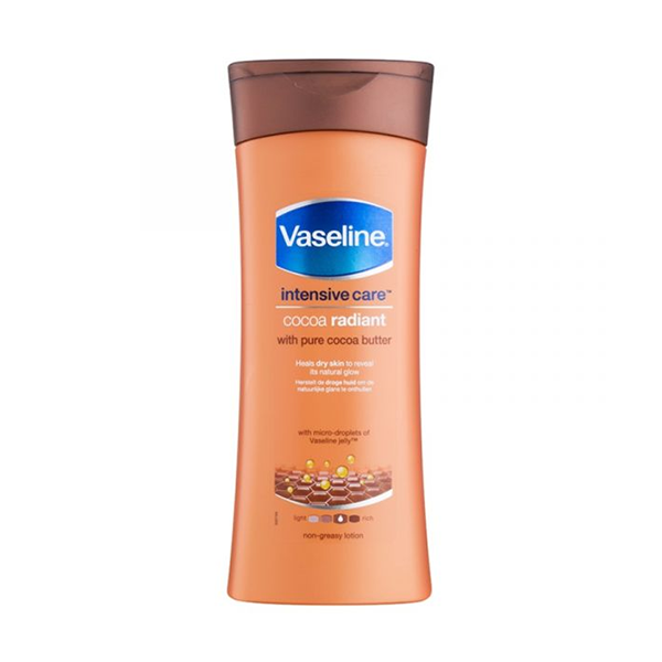 Vaseline Intensive Care Cocoa Radiant Body Lotion 400ml in UK