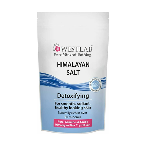 Westlab Pure Mineral Bathing Himalayan Pink Salt 500g in UK