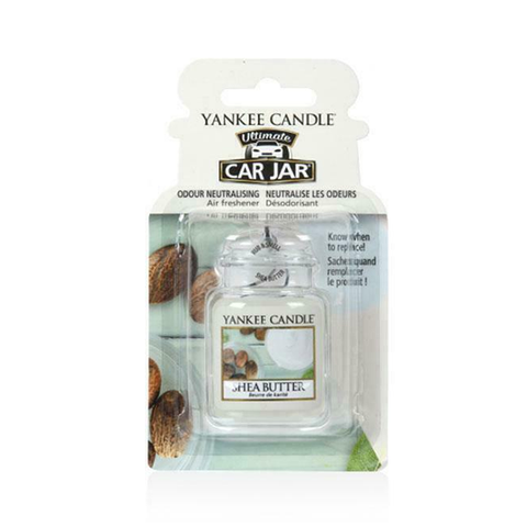Yankee Candle Car Jar Shea Butter Air Freshener in UK