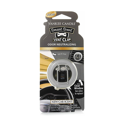 Yankee Candle New Car Scent Car Clip Air Freshener in UK