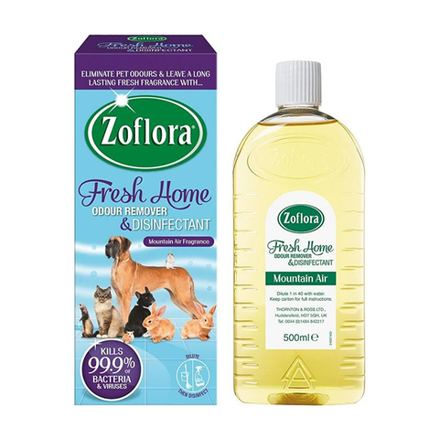 Zoflora Fresh Home Odour Remover & Disinfectant Mountain Air 500ml in UK