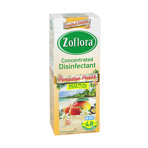 Zoflora Concentrated Disinfectant Paradise Peach 120ml in UK