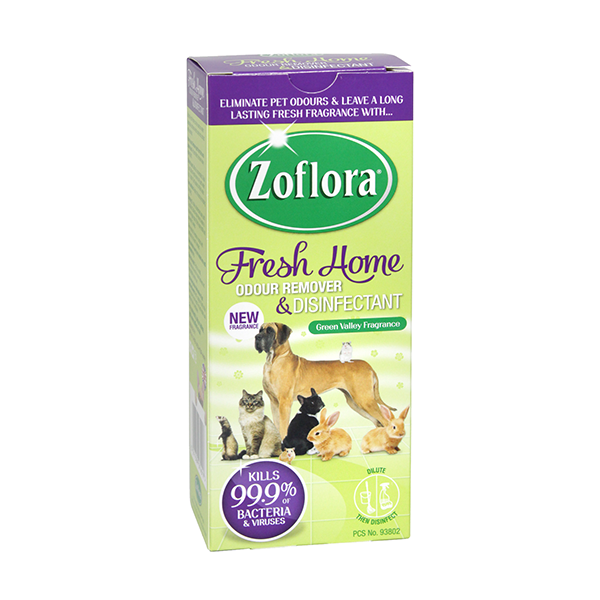 Zoflora Fresh Home Odour Remover & Disinfectant Green Valley 500ml in UK