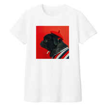 Load image into Gallery viewer, Women Cool Pug White