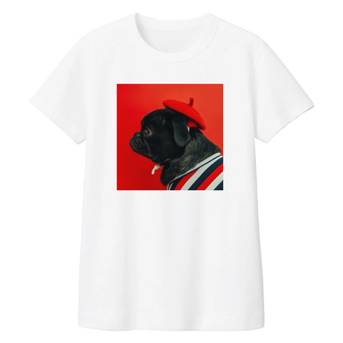 Women Cool Pug White