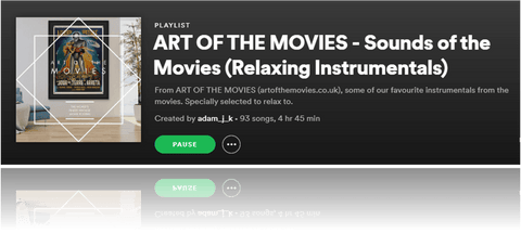 An Art of the Movies Playlist - Music of the Movies (Relaxing Instrumentals)...