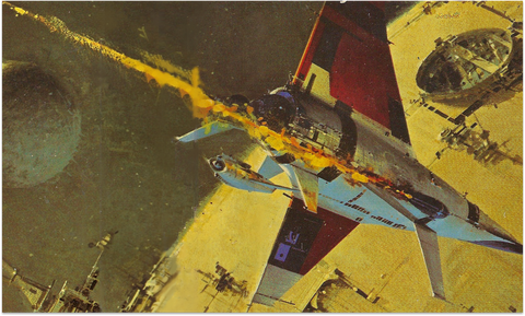 John Berkey - He Helped Shape The Galaxy, But Never Saw The Film...