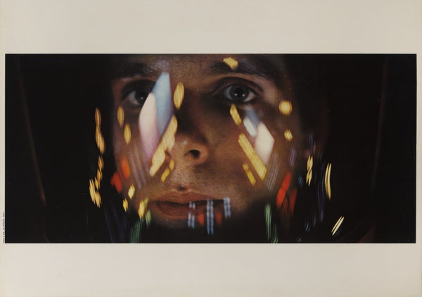 An original poster for the film 2001 A Space Odyssey